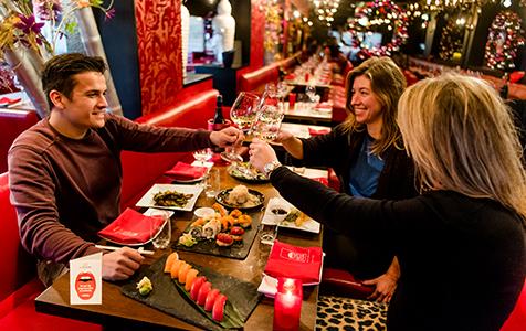 Tijdens de Restaurant Driedaagse serveren toprestaurants een zoutbewust lunch of diner